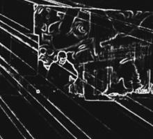 BLACK Electronic Underground #10 Sticker