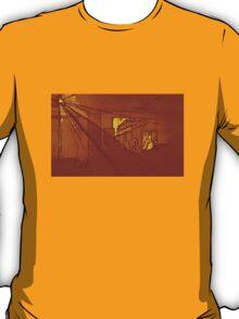 BLACK Electronic Underground #7 T-Shirt