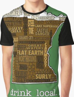 Drink Local (MN) Graphic T-Shirt