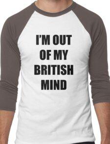 Out of my British mind Men's Baseball ¾ T-Shirt