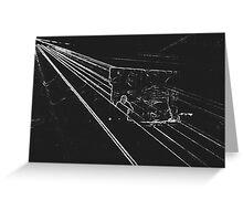 BLACK Electronic Underground #11 Greeting Card