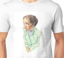 Woman on the Subway Unisex T-Shirt