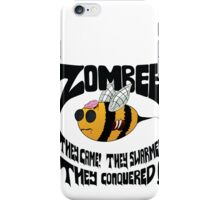 Zombee - Black Text iPhone Case/Skin