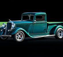 1934 Dodge Pick-Up Truck II by DaveKoontz