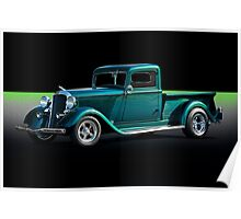 1934 Dodge Pick-Up Truck II Poster