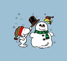 Snoopy Snowman Unisex T-Shirt
