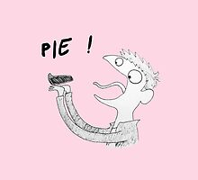 Dean likes Pie iPhone (pink) by slothqueen