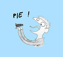 Dean likes Pie iPhone (blue) by slothqueen