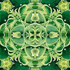 - Green ornament - by Losenko  Mila
