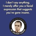Sheldon Quote - Insane by TGIGreeny