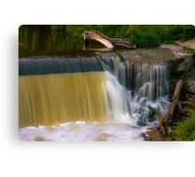 Grafton Dam and Waterfall Canvas Print