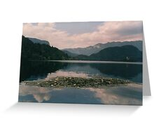 LAKE BLED Greeting Card