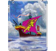 A 13th century English Fighting Ship - iPad/iPhone iPad Case/Skin