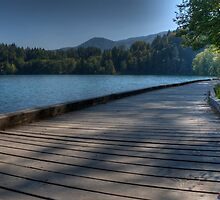 On The Boardwalk, Lake Bled by jcjc22