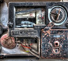 Old Coin Electric Meter by © Steve H Clark