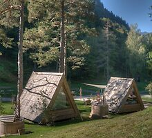Camping Lake Bled by jcjc22