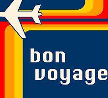 bon voyage retro by maydaze