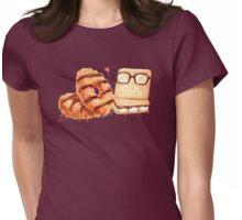 Sweet Caramel Graham Cracker Duo Womens Fitted T-Shirt