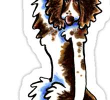 Clingy Springer Spaniel Sticker