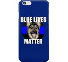 Blue Lives Matter  2 iPhone Case/Skin