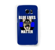 Blue Lives Matter  2 Samsung Galaxy Case/Skin