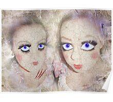 cracked dolls Poster