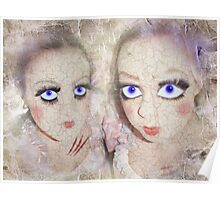 cracked dolls Poster