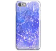 Sky blue scratches case  iPhone Case/Skin