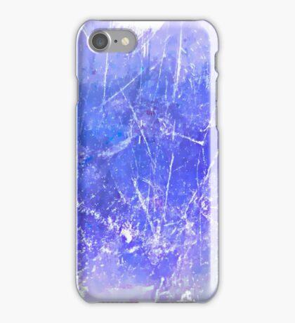 Sky blue scratches case  iPhone Case/Skin