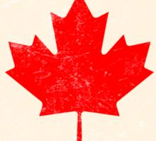 Canadian Maple Leaf Flag Sticker