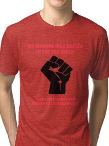 Power Fist Tri-blend T-Shirt