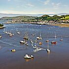 Conwy Harbor, North Wales by George Standen