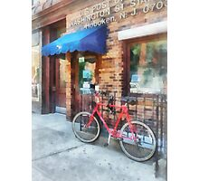 Bicycle by Post Office Photographic Print