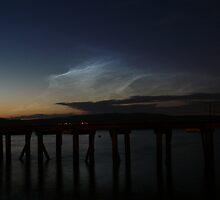 The Beautiful Mystic Spirit Clouds ( Noctilucent  Clouds ) by mountainvoyager