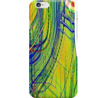 extream Rainbow Abstract curves light painting iPhone Case/Skin