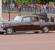 Princes' Harry & William, Kate arrive at Buckingham Palace by Keith Larby