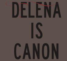 Delena is canon (black) Kids Clothes