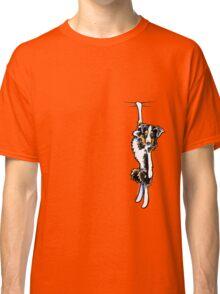 Clingy Australian Shepherd Classic T-Shirt