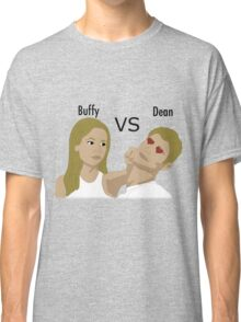 Buffy VS Dean Classic T-Shirt