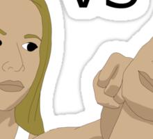 Buffy VS Dean Sticker
