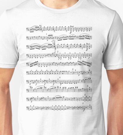 Sheet Music Tee Unisex T-Shirt