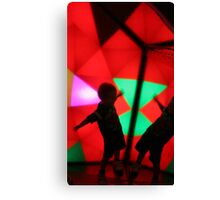 Silhoutte in Color Canvas Print