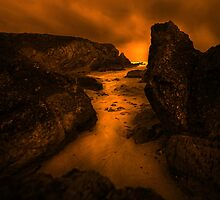 Infra Red Rock 3 by Mark Haynes Photography