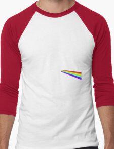 Dark Side of the Moo Men's Baseball ¾ T-Shirt