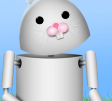 Cute Easter  Robo-x9  Sticker
