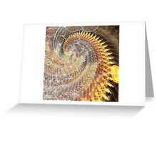 Stepal Clank Greeting Card