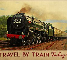 Vintage Travel By Train Today! by House Of Flo