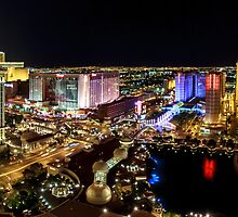 The Strip, Las Vegas by Harmeet Gabha