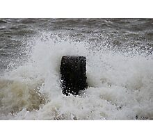 Waves-Clacton On Sea Photographic Print