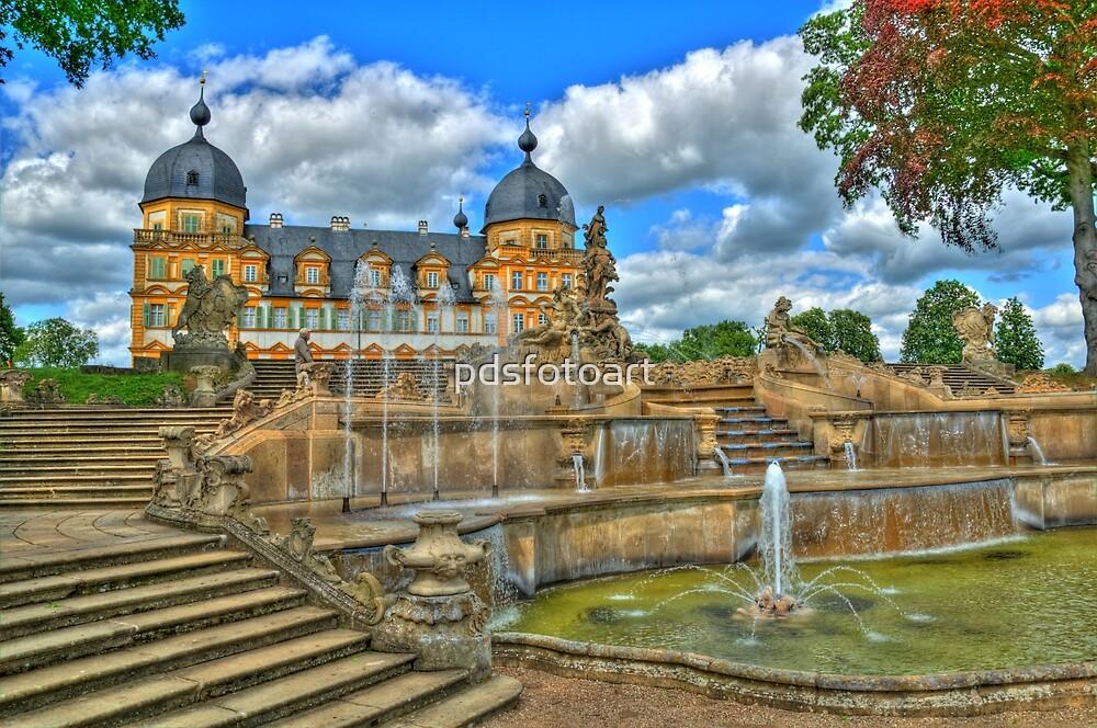 Schloss Seehof by pdsfotoart